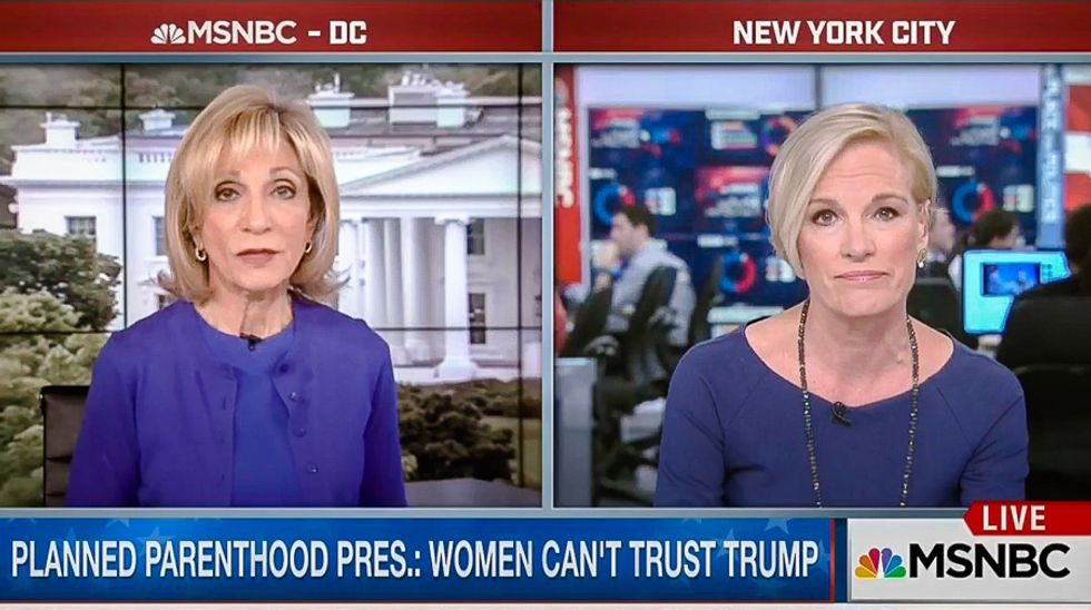 Planned Parenthood's Cecile Richards strikes back at Andrea Mitchell's obsession with Clinton's marriage