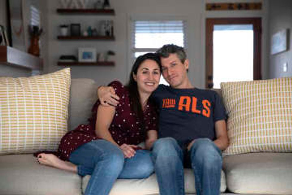 In a race against terminal illness, former Obama staffer with ALS and his wife find new hope a year later
