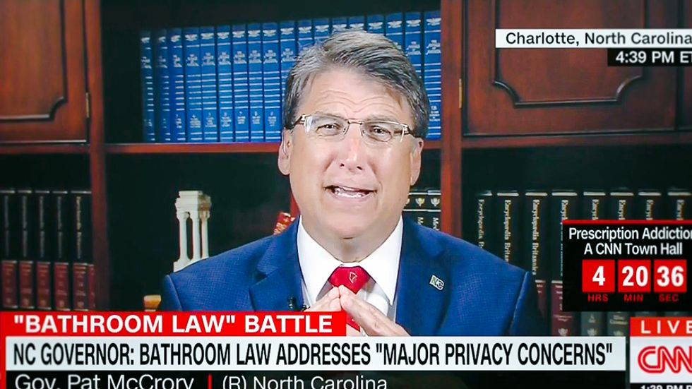 Pat McCrory: Congress should 'revisit the 1964 Civil Rights Act' to allow segregated bathrooms