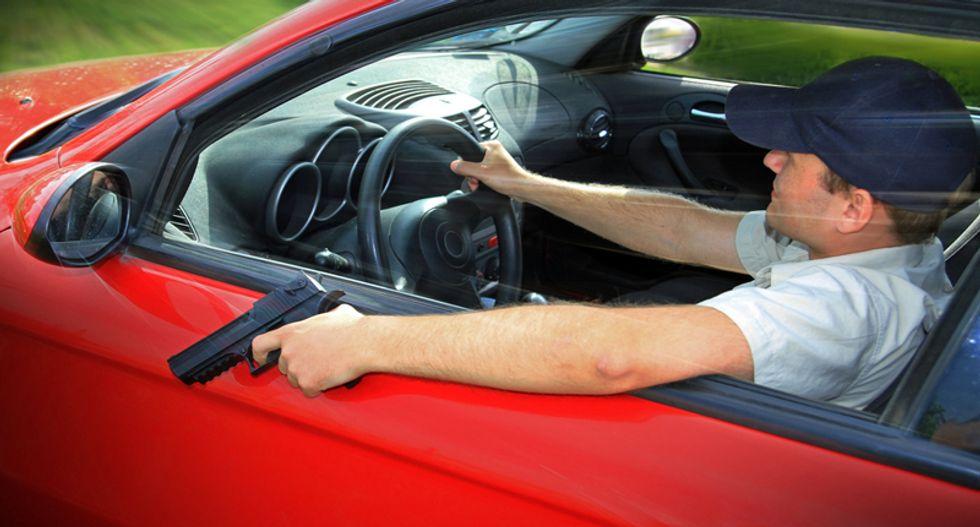 Handgun-waving white man threatens to lynch blacks in Pennsylvania road-rage incident