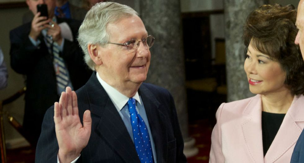 Mitch McConnell: Impeachment 'diverted the attention of the government' away from coronavirus