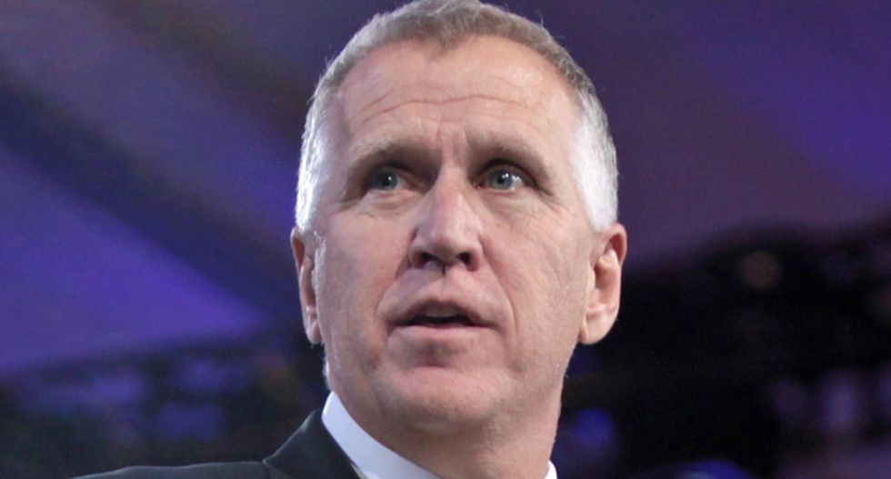 North Carolina Sen. Thom Tillis' re-election is in trouble -- and Republicans are trying to select his opponent