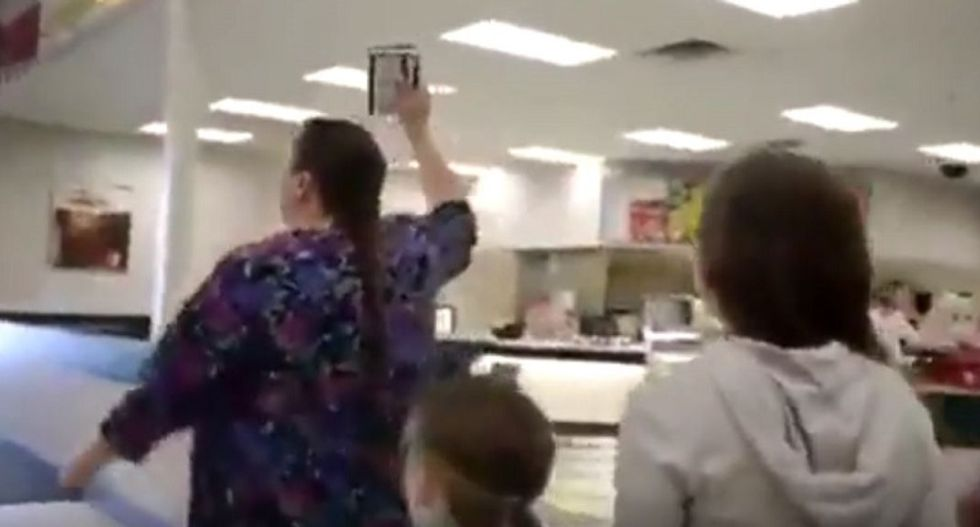 Angry Bible-waving mom screams at Target customers: 'Are you gonna let the Devil rape your children?'