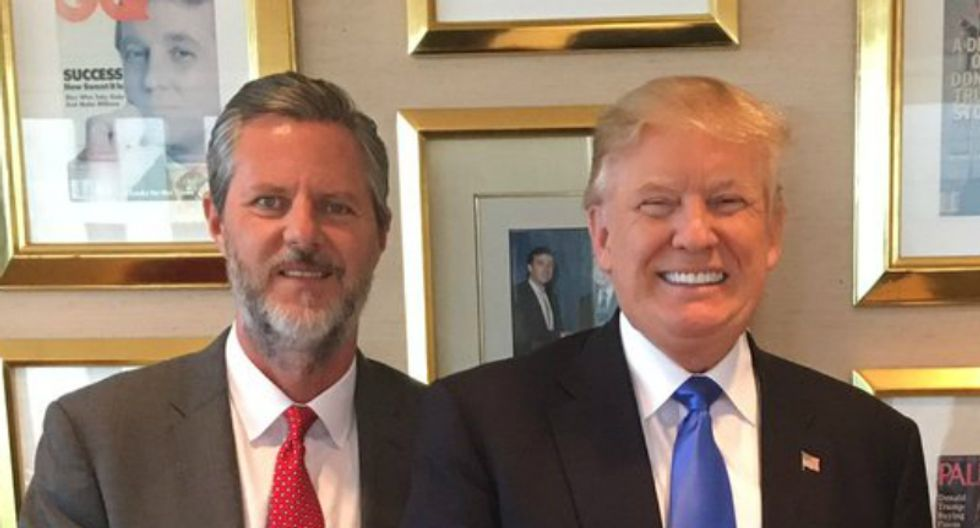 Trump fixer helped Jerry Falwell, Jr cover up scandal involving racy photographs: report