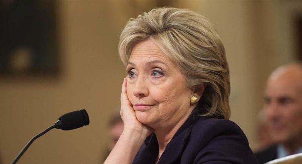Did a Clinton-hounding conservative group accidentally help Hillary with her FBI interview?