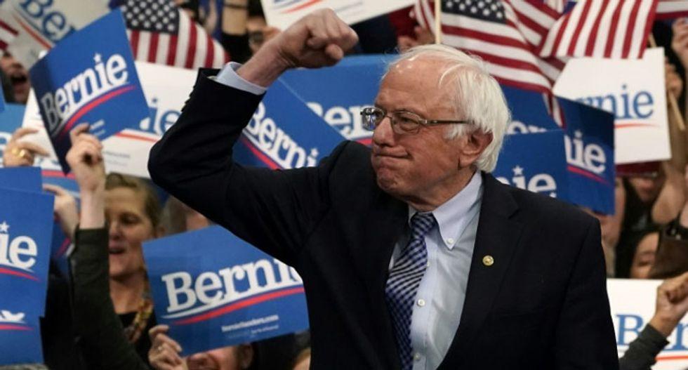 Bernie Sanders and Pete Buttigieg emerge as frontrunners in Democratic presidential race