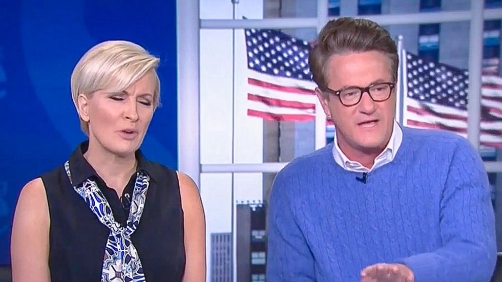 Pot meet kettle: Joe Scarborough yells at CNN for 'kissing up' to Trump with 'unprecedented access'