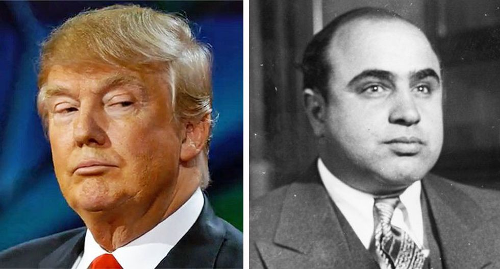 Trump employing Al Capone's same criminal schemes to stay out of jail: columnist