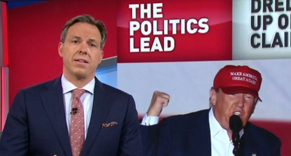 Jake Tapper hammers Trump's Vince Foster murder conspiracy mongering as 'fiction born of delusion'