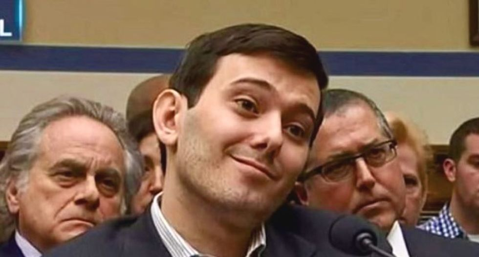 WATCH: Pharma Bro gripes about 'witch hunt of epic proportions' after being found guilty of fraud