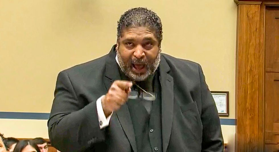 'Repent!' Reverend William Barber burns down GOP lawmakers with testimony on 'sin' of voter suppression