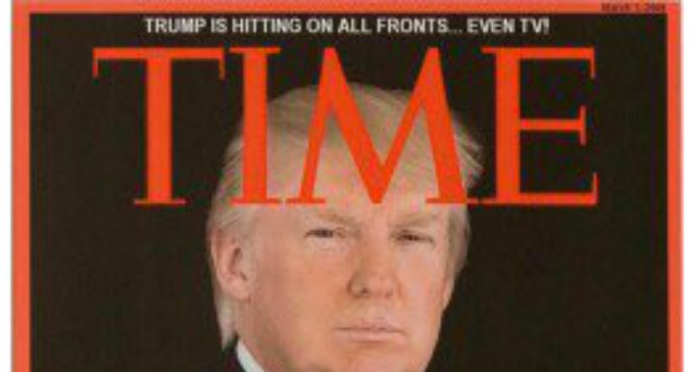 Trump claims he turned down TIME 'Man of the Year' in 2016 -- Magazine says no
