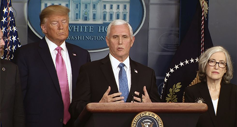 Here's why Mike Pence is the worst person to put in charge of the coronavirus task force