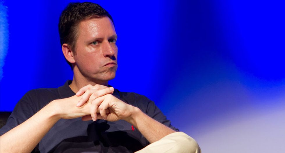 Billionaire Peter Thiel pushes 'Gawker bill' as website prepares to be auctioned off