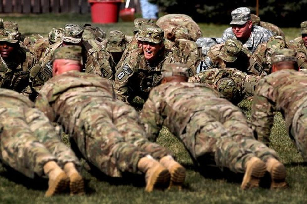 Is the US Army turning into Animal House?