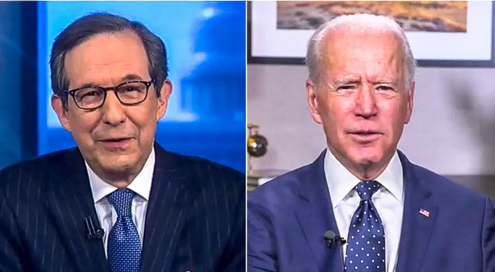 Joe Biden thanks 'Chuck' for interview after Chris Wallace asks him about his mental capacity