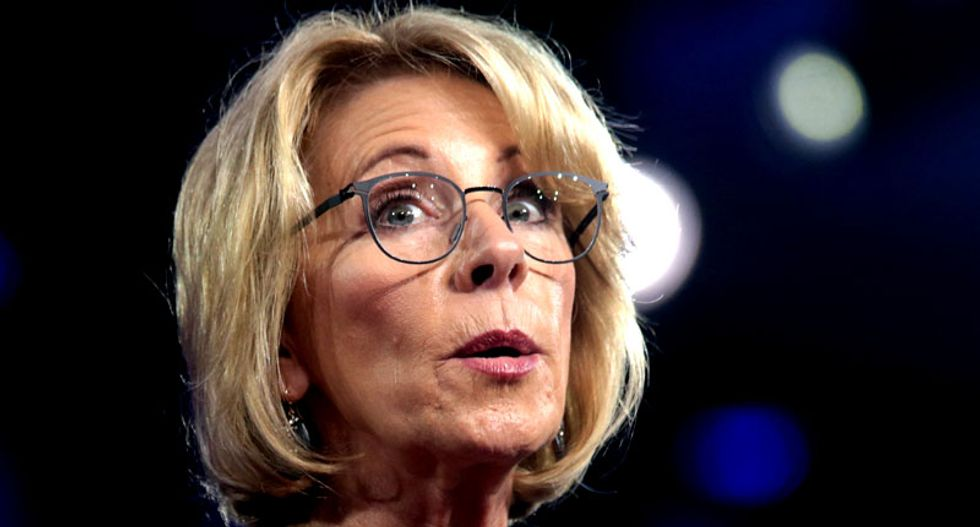 Right-wing groups with ties to Betsy DeVos are behind protests against coronavirus restrictions: report