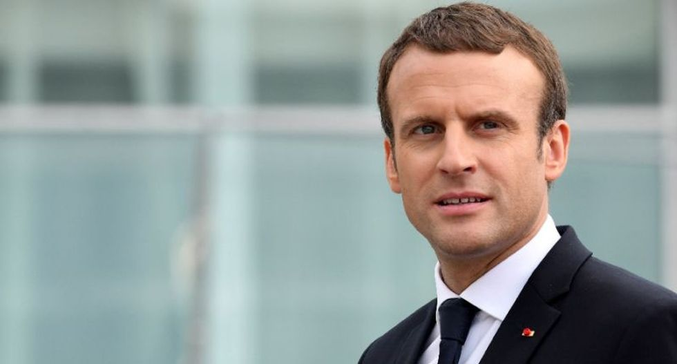 Far-right extremist arrested for plotting to assassinate France's Macron during Trump visit