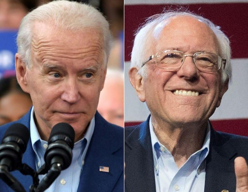 Biden-Sanders vote proceeds in 3 US states despite virus fears