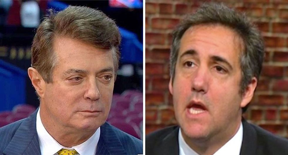 Michael Cohen is being treated like a 'celebrity' in prison -- while Paul Manafort headed to notorious NYC jail