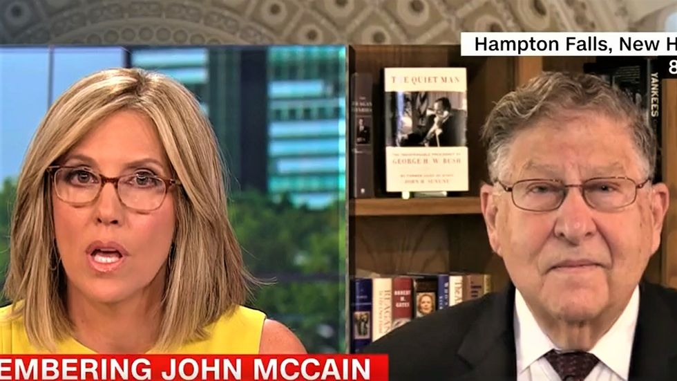 CNN's Camerota flattens Trump supporter who tries to dismiss her network's reporting as fake news