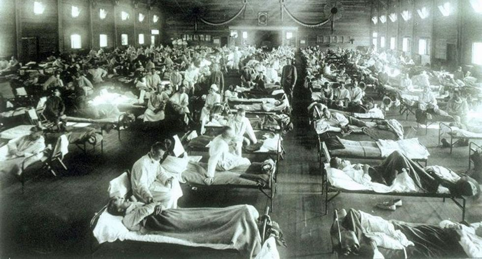 How my dad survived the 1918 flu -- and predicted the decline of America