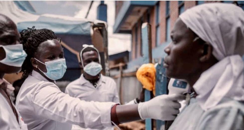 No soap, no water: billions lack basic protection against virus
