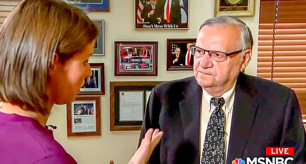 Joe Arpaio says it's 'hard' to call John McCain a hero: 'You know who that person is? It's Donald Trump'