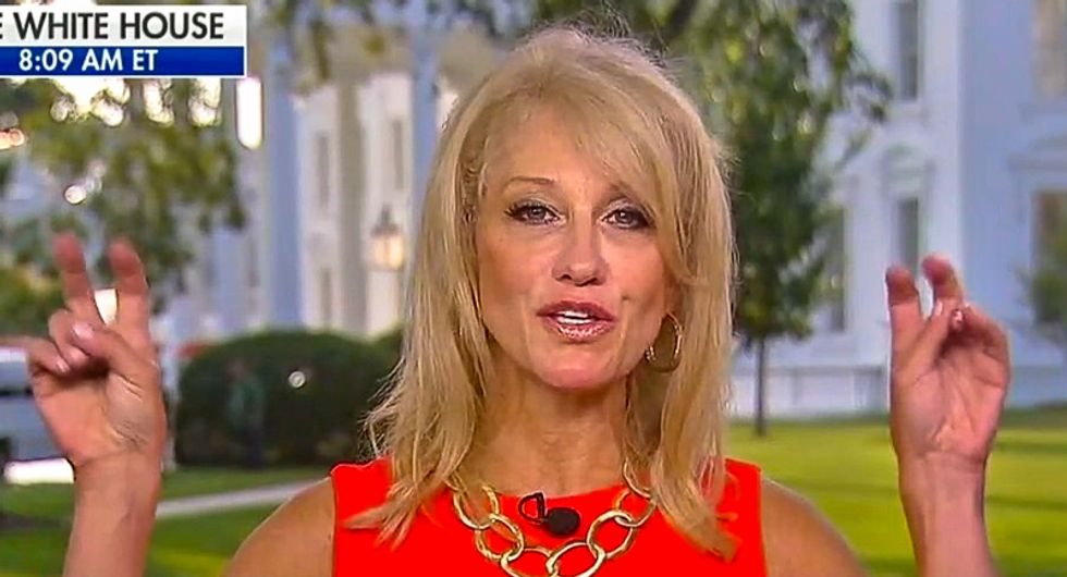 Kellyanne Conway: 'It's amazing that Trump won under the circumstances of this rigged system'