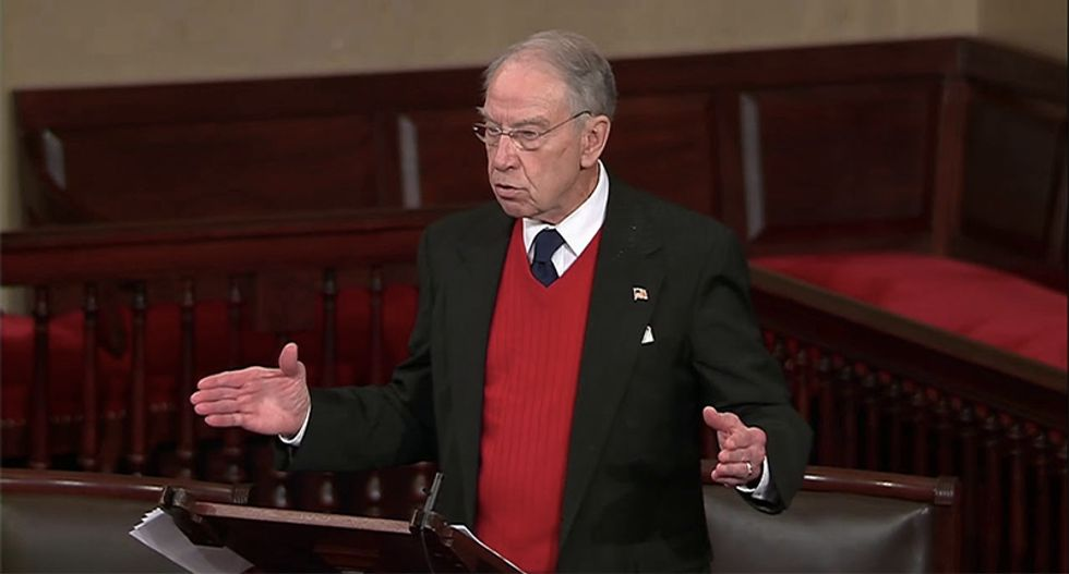 Republican reduced to praying on the Senate floor that Trump 'will have the wisdom' to keep the government open