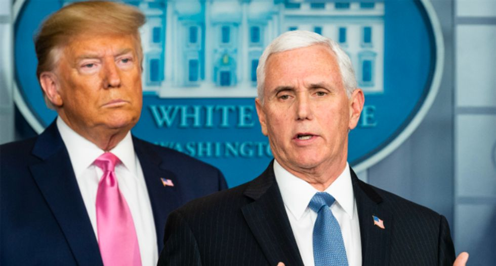 Even Trump criticizes Mike Pence's answer about why the administration won't open Obamacare exchanges