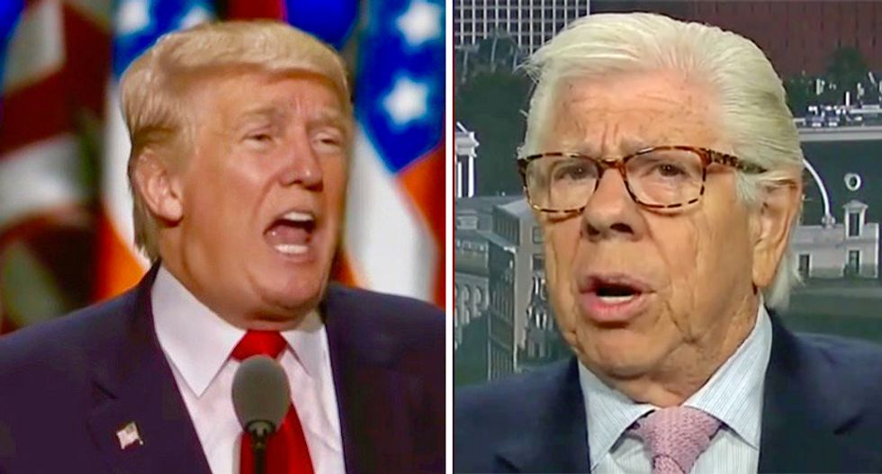 Newsman Carl Bernstein reveals Trump pals fear he's 'cornered in a way that he's never been in his life'