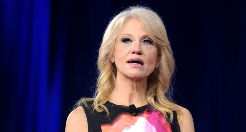 MSNBC political analyst wants to know where Kellyanne Conway's 'empathy' was for Trump's 19 accusers