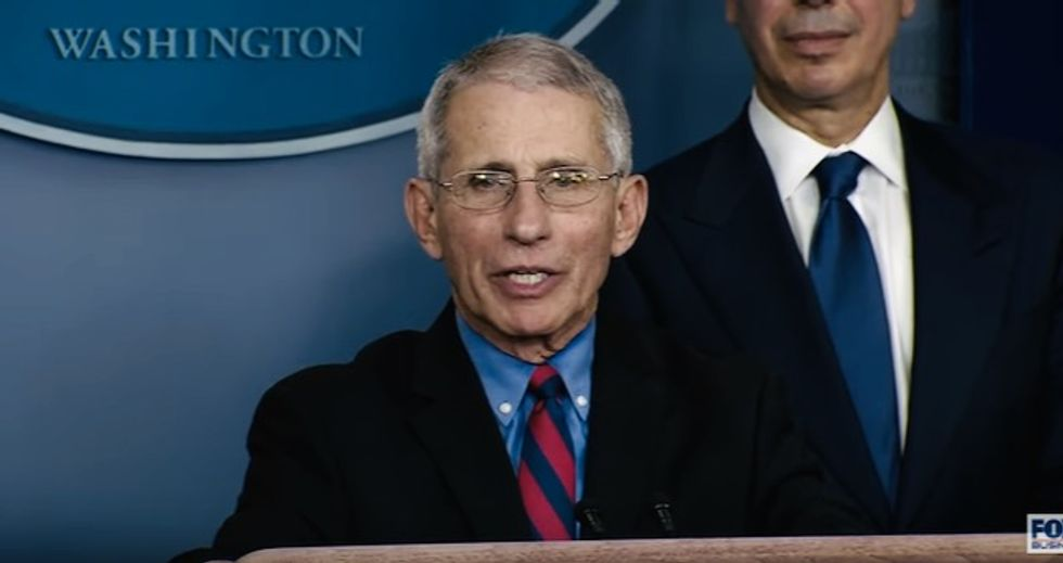 Huge fight breaks out at White House over what Trump thinks is a miracle coronavirus drug -- Dr. Fauci disagrees