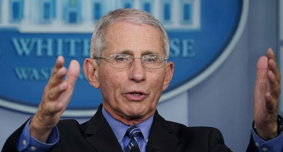 Fauci staffer unmasked as COVID-19 truther who writes for right-wing blog under a fake name