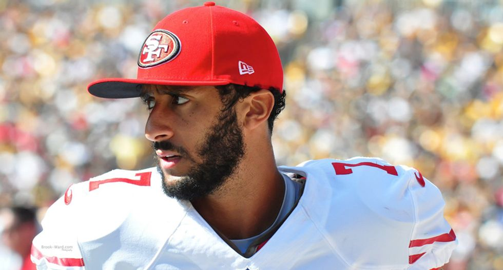 Republican Party caught darkening Colin Kaepernick's skin for disparaging graphic -- then lying about it