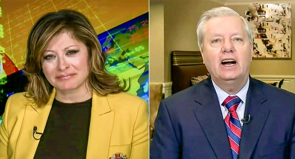 Lindsey Graham melts down at 'disgusting' Nancy Pelosi after she says Trump contributes to 'people dying'
