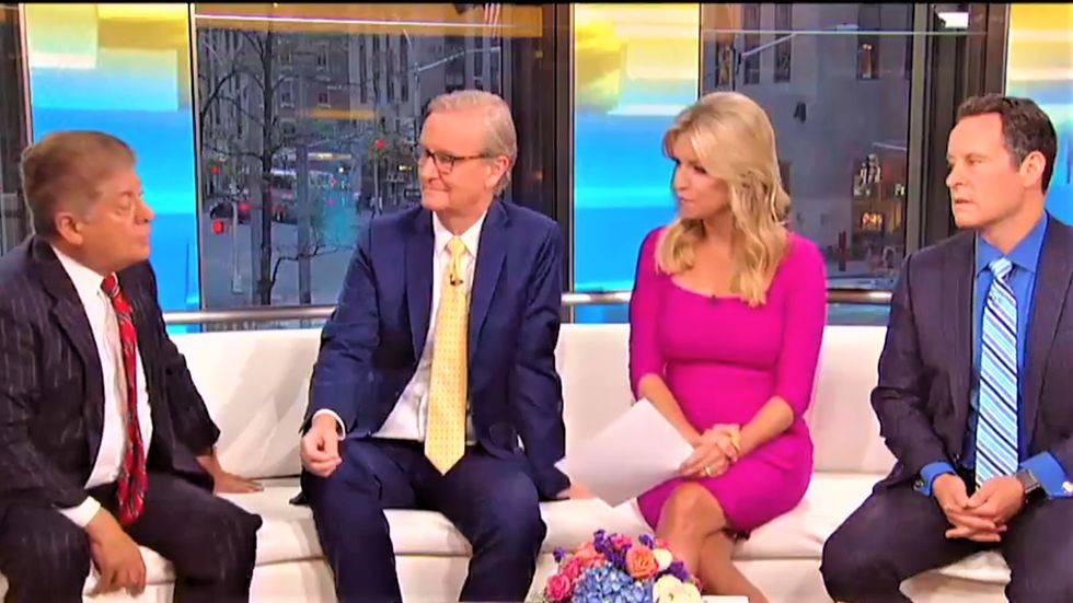 Fox & Friends hosts visibly deflated after legal analyst says Trump's latest tweet gives 'fodder' for Mueller's probe