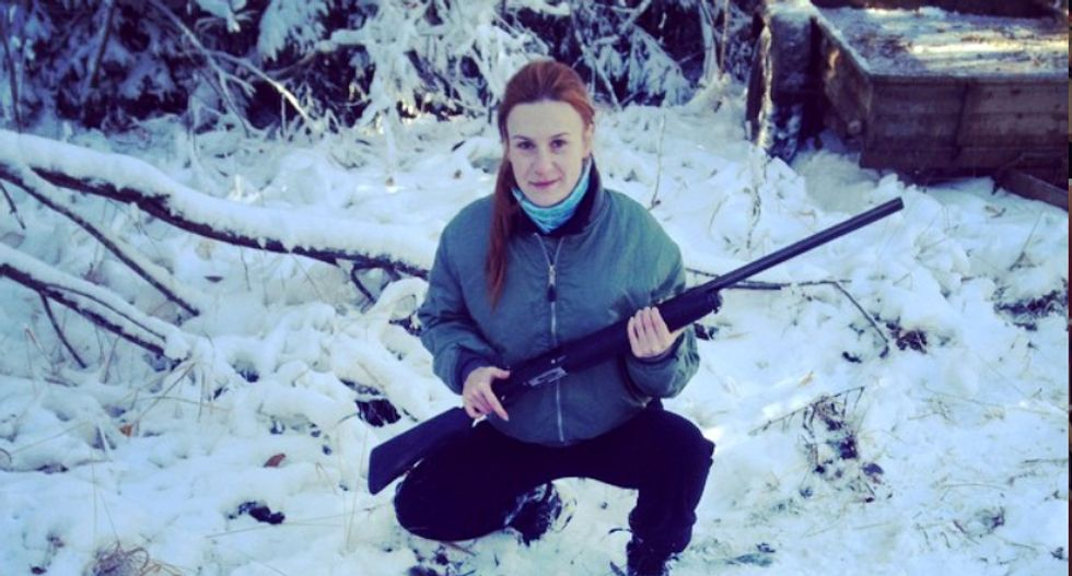 Maria Butina's lawyers claim prosecutors allow BBC reporters to break the same law she did