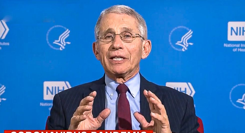 'This has to stop': Internet slams Trump for blocking Dr. Fauci from testifying to Congress