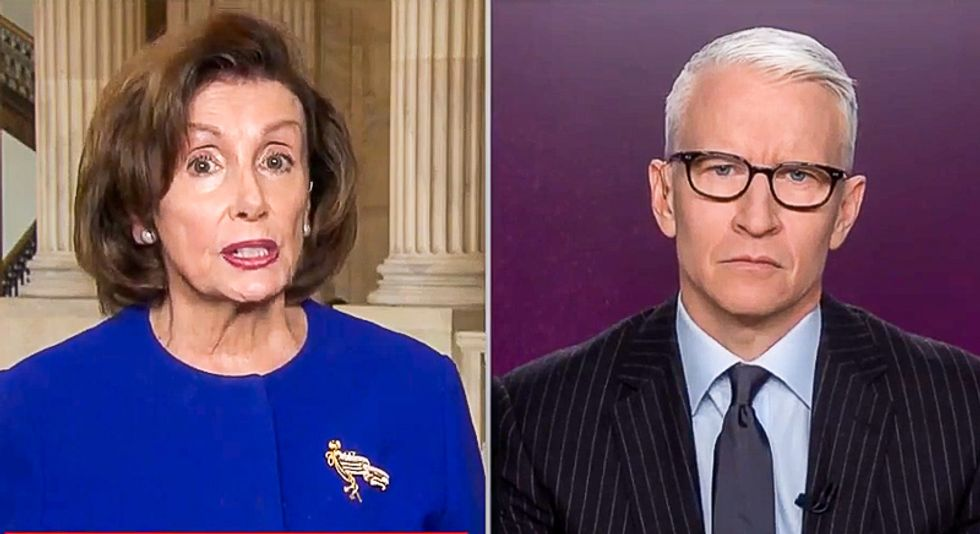 Pelosi: Blaming failures on impeachment is 'admission' Trump and McConnell 'cannot handle the job'
