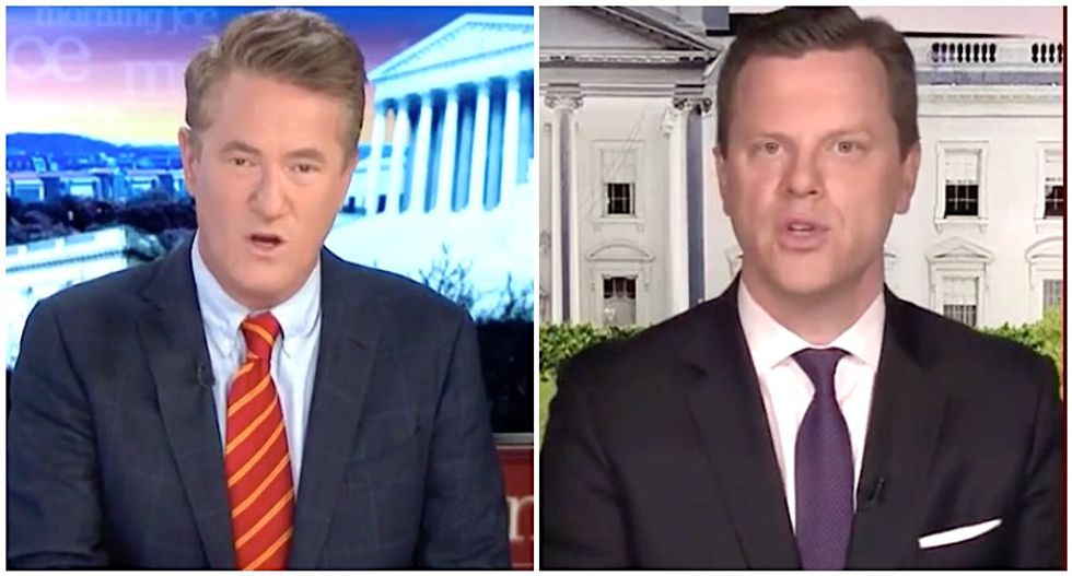 'Embarrassing': Morning Joe co-hosts destroy Trump-loving governors for trying to 'swagger' past coronavirus