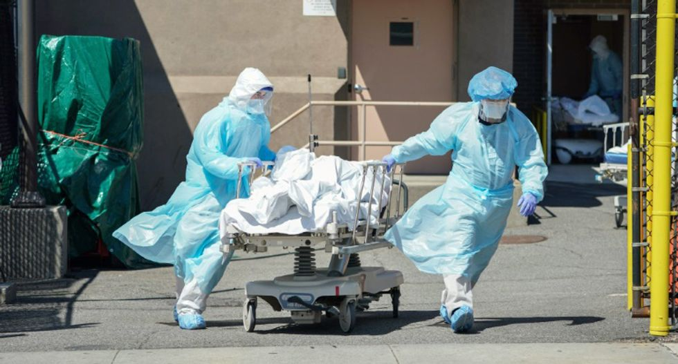 Devastating internal government docs project hundreds of thousands will die if pandemic lockdown lifted