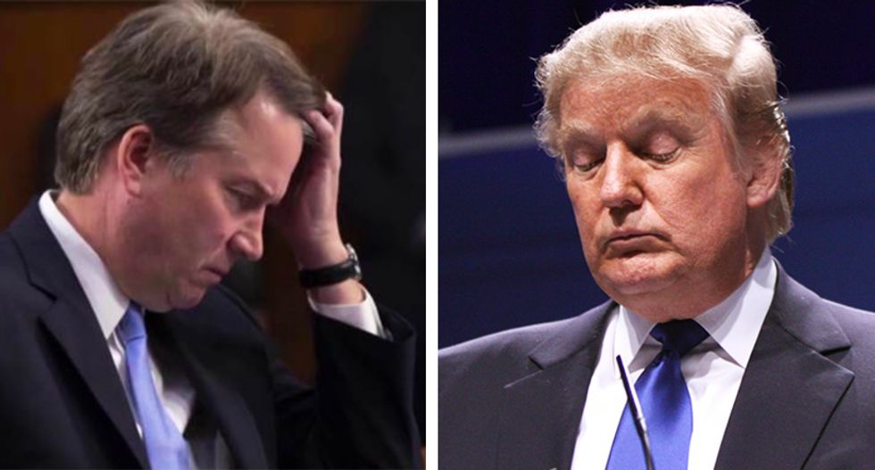Trump, Kavanaugh and the sleazification of the conservative elite