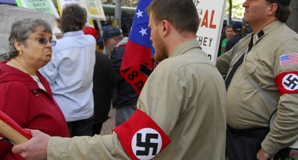 White nationalists are 'prepared to revolt' if Trump runs from their support