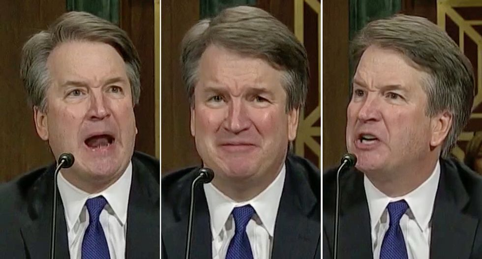 Petulant and enraged Kavanaugh exposed himself as a 'privileged prep-monster' in combative hearing