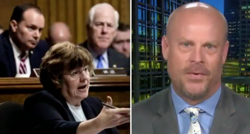 Rachel Mitchell's former colleague accuses GOP's prosecutor of 'allowing politics to bleed into her judgment'