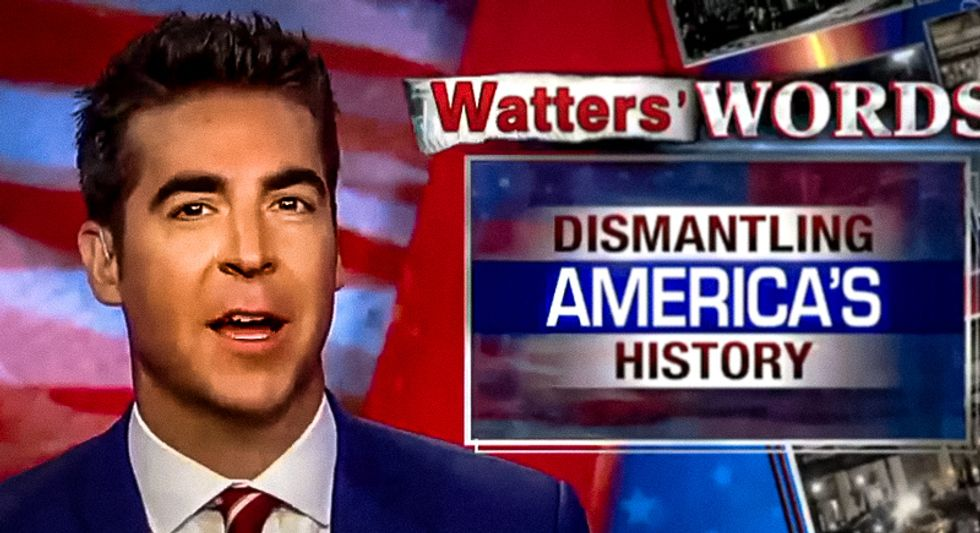 Fox News host: Removing Confederate statues is a plot 'so country forgets Democratic Party enslaved blacks'