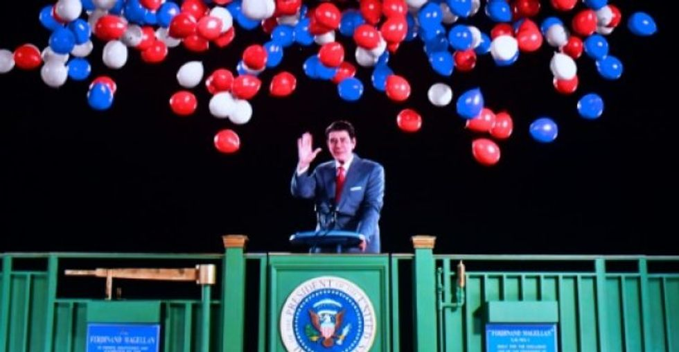 Ronald Reagan hologram unveiled at museum dedicated to late US president