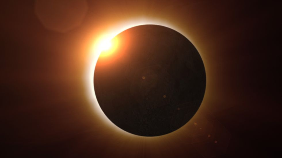 'Shadows don't do that': Flat Earthers offer absurd explanations for why the eclipse proves them right